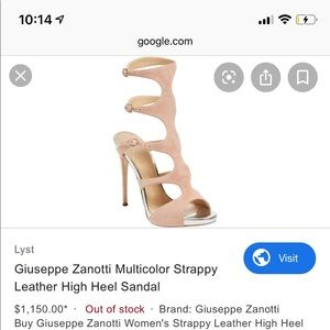 Giuseppe's ankle boots/ sandals